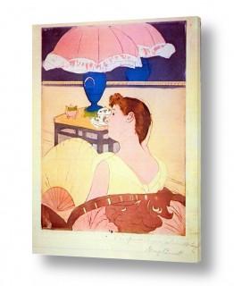 אמנים מפורסמים מארי קאסאט | Cassatt Mary 040