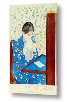 אמנים מפורסמים מארי קאסאט | Cassatt Mary 041