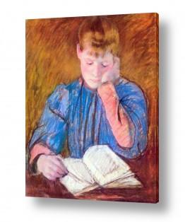 אמנים מפורסמים מארי קאסאט | Cassatt Mary 046