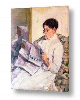 אמנים מפורסמים מארי קאסאט | Cassatt Mary 049