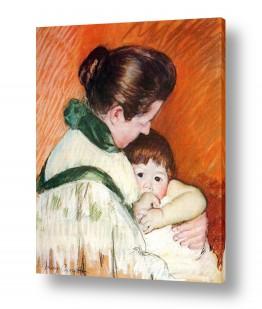 אמנים מפורסמים מארי קאסאט | Cassatt Mary 050