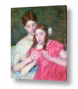 אמנים מפורסמים מארי קאסאט | Cassatt Mary 051