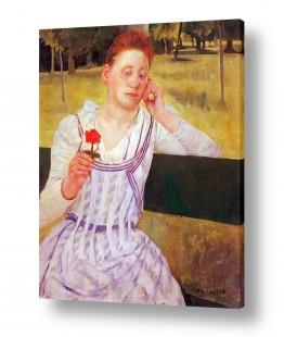אמנים מפורסמים מארי קאסאט | Cassatt Mary 052