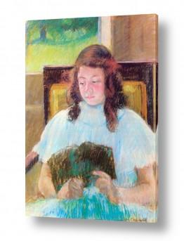 אמנים מפורסמים מארי קאסאט | Cassatt Mary 053