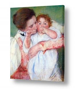 אמנים מפורסמים מארי קאסאט | Cassatt Mary 054