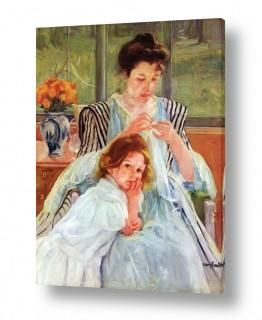 אמנים מפורסמים מארי קאסאט | Cassatt Mary 055