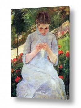אמנים מפורסמים מארי קאסאט | Cassatt Mary 058