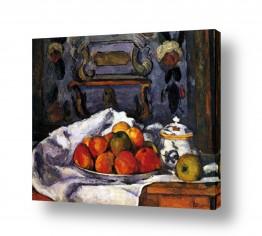 פינת אוכל פינת אוכל קלאסית   Paul Cezanne 003