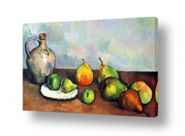 פירות אגס | Paul Cezanne 005