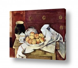 טבע דומם סלסלת פירות | Paul Cezanne 013