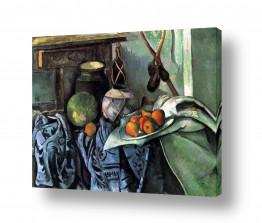טבע דומם סלסלת פירות | Paul Cezanne 017
