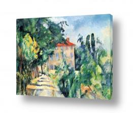 אמנים מפורסמים פול סזאן | Paul Cezanne 012