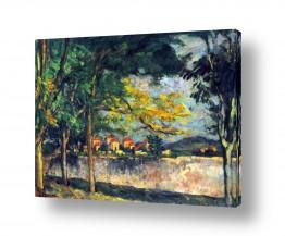 אמנים מפורסמים פול סזאן | Paul Cezanne 015