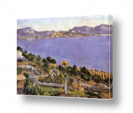 אמנים מפורסמים פול סזאן | Paul Cezanne 015a