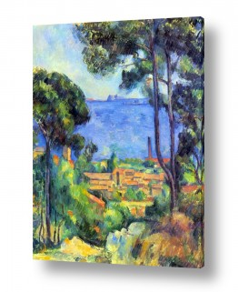 אמנים מפורסמים פול סזאן | Paul Cezanne 016