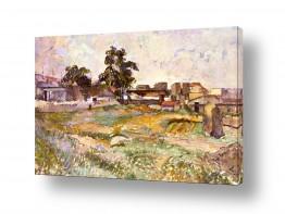 אמנים מפורסמים פול סזאן | Paul Cezanne 017
