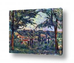 אמנים מפורסמים פול סזאן | Paul Cezanne 020