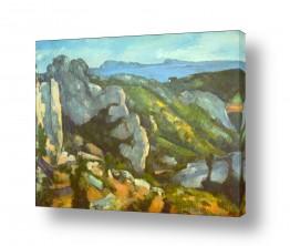 אמנים מפורסמים פול סזאן | Paul Cezanne 021