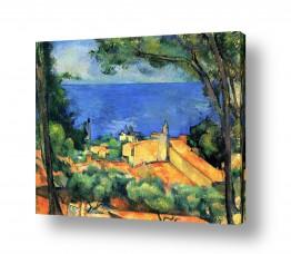 אמנים מפורסמים פול סזאן | Paul Cezanne 022