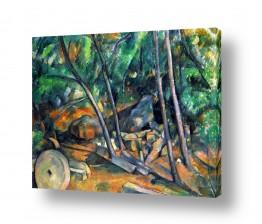 אמנים מפורסמים פול סזאן | Paul Cezanne 024