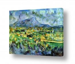 אמנים מפורסמים פול סזאן | Paul Cezanne 026