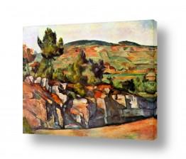 אמנים מפורסמים פול סזאן | Paul Cezanne 027
