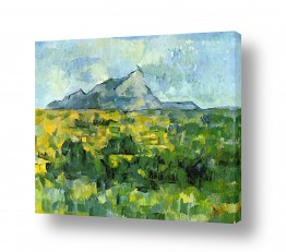אמנים מפורסמים פול סזאן | Paul Cezanne 028