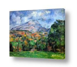 אמנים מפורסמים פול סזאן | Paul Cezanne 029