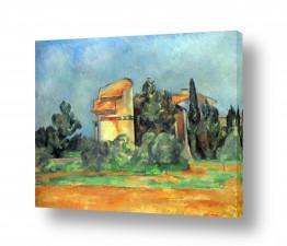 אמנים מפורסמים פול סזאן | Paul Cezanne 030