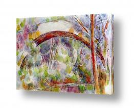 אמנים מפורסמים פול סזאן | Paul Cezanne 032