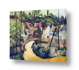 אמנים מפורסמים פול סזאן | Paul Cezanne 033