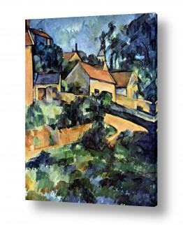 אמנים מפורסמים פול סזאן | Paul Cezanne 034