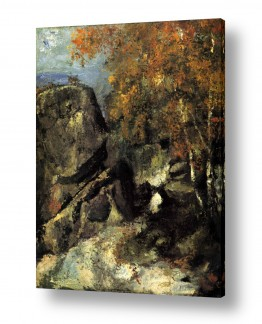 אמנים מפורסמים פול סזאן | Paul Cezanne 035