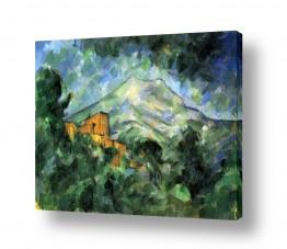 אמנים מפורסמים פול סזאן | Paul Cezanne 036