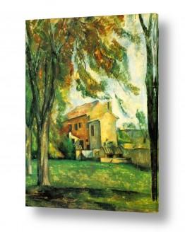 אמנים מפורסמים פול סזאן | Paul Cezanne 037