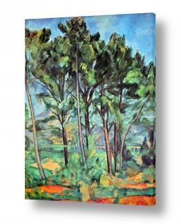 אמנים מפורסמים פול סזאן | Paul Cezanne 039