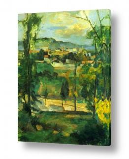 אמנים מפורסמים פול סזאן | Paul Cezanne 040