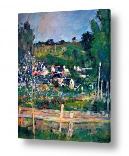 אמנים מפורסמים פול סזאן | Paul Cezanne 041