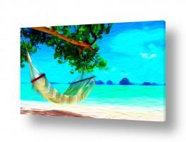 מים נוף ים | #0015 נוף אי אקזוטי