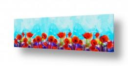פרחים פרגים | #0022 שדה פרגים
