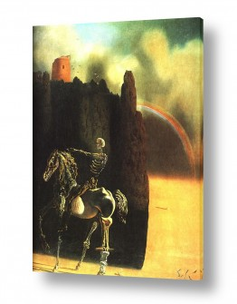 אמנים מפורסמים סלבדור דאלי | Horseman of death