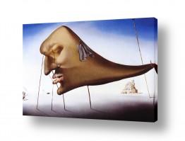 אמנים מפורסמים סלבדור דאלי | Sleep