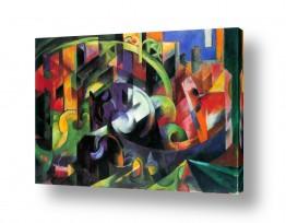אמנים מפורסמים מרק פרנץ | Franz Mark 001