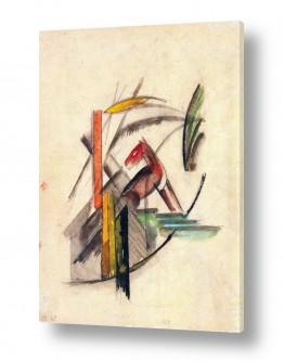 אמנים מפורסמים מרק פרנץ | Franz Mark 002