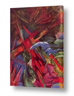 אמנים מפורסמים מרק פרנץ | Franz Mark 003