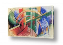 אמנים מפורסמים מרק פרנץ | Franz Mark 004