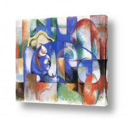 אמנים מפורסמים מרק פרנץ | Franz Mark 006