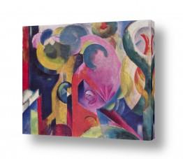 אמנים מפורסמים מרק פרנץ | Franz Mark 008