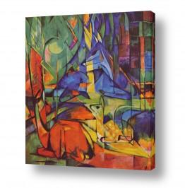 אמנים מפורסמים מרק פרנץ | Franz Mark 010