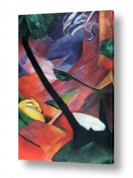 אמנים מפורסמים מרק פרנץ | Franz Mark 011